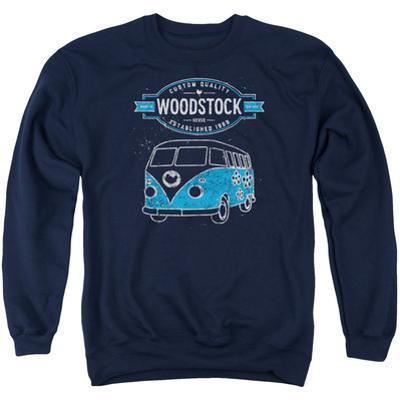 Crewneck Sweatshirt: Woodstock- Peace Van
