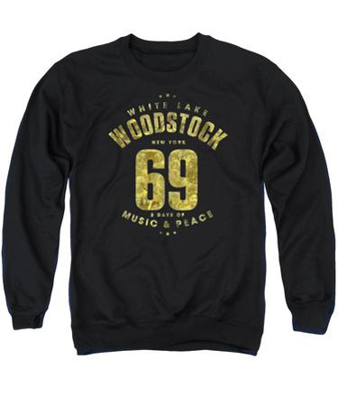 Crewneck Sweatshirt: Woodstock- White Lake