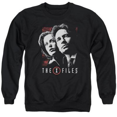 Crewneck Sweatshirt: X Files- Mulder & Scully