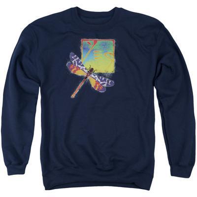 Crewneck Sweatshirt: Yes- Dragonfly Stamp