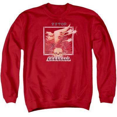 Crewneck Sweatshirt: ZZ Top- Deguello Cover