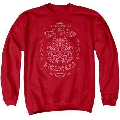 Crewneck Sweatshirt: ZZ Top- Texicali Demon
