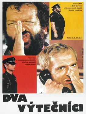 Crime Busters, Polish poster, Bud Spencer, Terence Hill, 1977