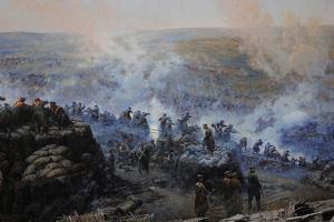 Crimean War (1853-1856). Siege of Sevastopol, 1854-1855, by Franz Alekseyevich Roubaud (1856-1928)