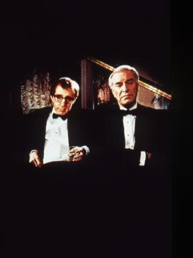 Crimes and delits CRIMES AND MISDEMEANORS, 1989 by WOODY ALLEN with Woody Allen and Martin Landau (