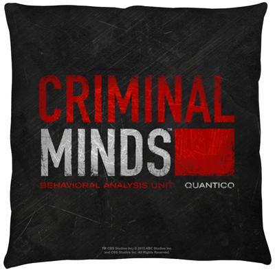 Criminal Minds - Logo Throw Pillow