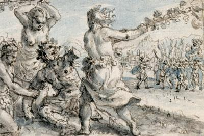Maenads Beating Pentheus, Early 17th Century