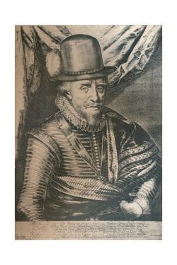 Maurice, Prince of Orange, 17th century, (1924) by Crispyn van de Queboren
