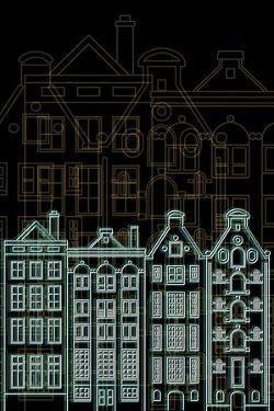 Amsterdam Night by Cristian Mielu