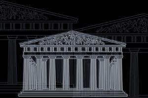 Athens Night by Cristian Mielu