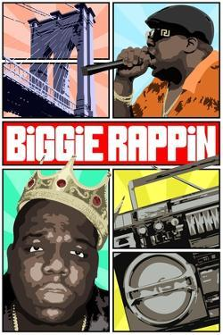 Biggie Rapping by Cristian Mielu