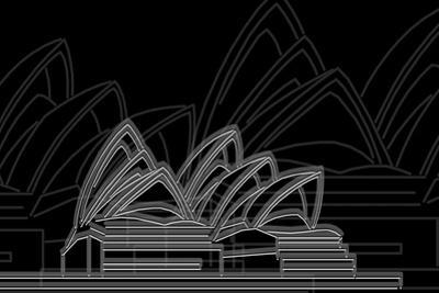 Sydney Night by Cristian Mielu