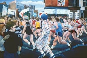 London Marathon, 1996 by Cristiana Angelini