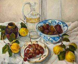 Still Life with Fruit, by Cristiana Angelini