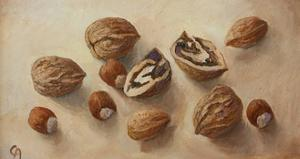 Walnuts and Hazelnuts, 2014 by Cristiana Angelini