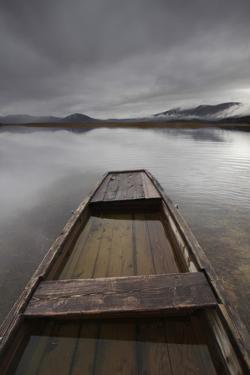 Slovenia, Boat on Lake Cerknica by Cristiana Damiano