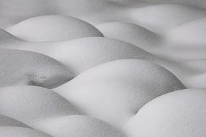 Slovenia, Sensual Shapes on Snow by Cristiana Damiano