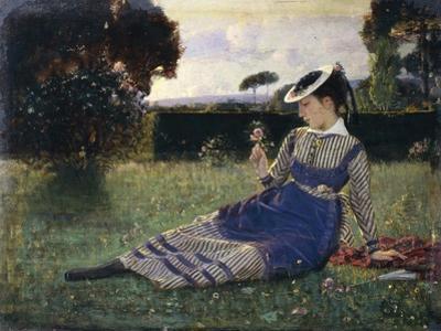 Alaide in Garden, 1867