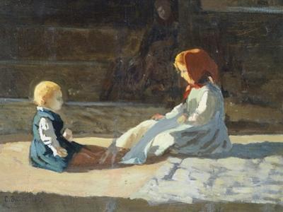 Children in Sun, Circa 1860