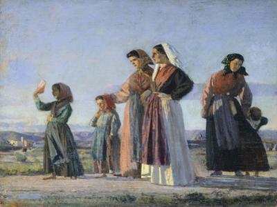 Returning from Mass, Circa 1865