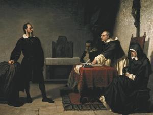 The Trial of Galileo by Cristiano Banti