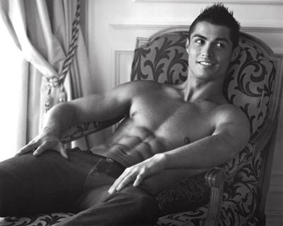 Cristiano Ronaldo Real Madrid Sports Sexy Glossy Photo Photograph Print