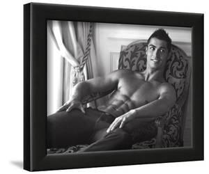 Cristiano Ronaldo Real Madrid Sports Sexy Glossy Photo Photograph Print