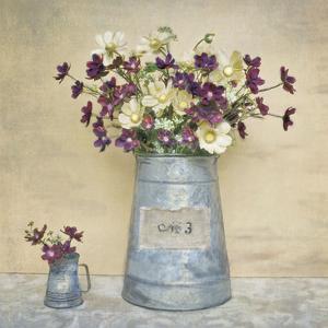 Plum Daisies by Cristin Atria