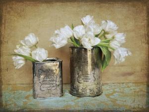 Vintage Tulips I by Cristin Atria
