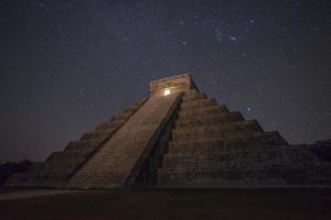 The Great Pyramid, El Castillo, in Chichen Itza by Cristina Mittermeier