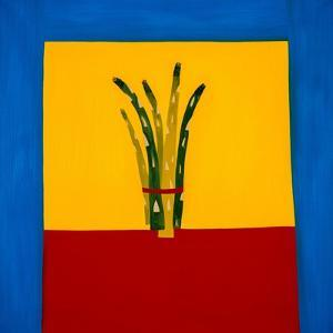 Asparagus,1998,(oil on linen) by Cristina Rodriguez
