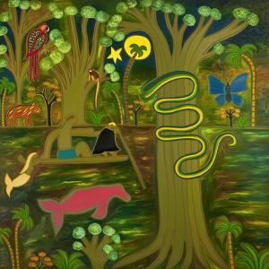 At the Heart of the Amazon, 2010 by Cristina Rodriguez