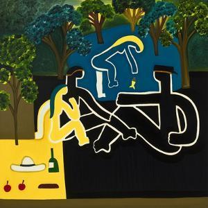 Dejeuner Sur L'Herbe (After Manet), 2009 by Cristina Rodriguez