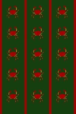 Design- CR- Crabs in Green by Cristina Rodriguez