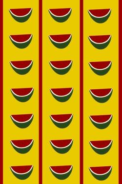 Design-CR-Watermelons in Yellow by Cristina Rodriguez