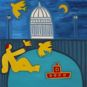 Man under Bridge by Cristina Rodriguez