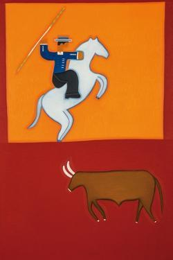 The mounted bullfighter by Cristina Rodriguez