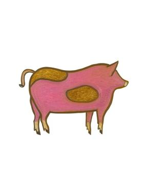 The Pig,2009 by Cristina Rodriguez