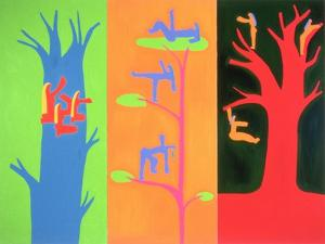 The Spirits of the Tree, 1996 by Cristina Rodriguez