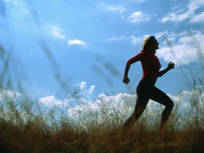 Woman Jogging by Cristina