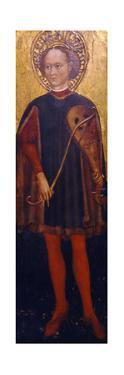 Saint Genesius of Rome, Second Half of the 15th C by Cristoforo Moretti