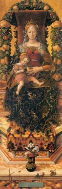 Madonna of the Taper (Madonna Della Candeletta) by Crivelli Carlo
