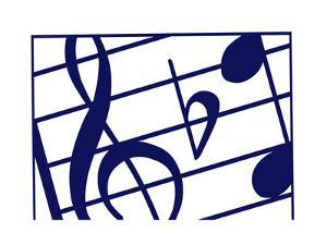 Music Notes by Crockett Collection