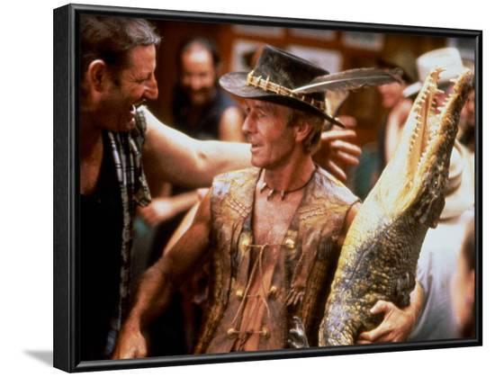 Crocodile Dundee--Framed Photo