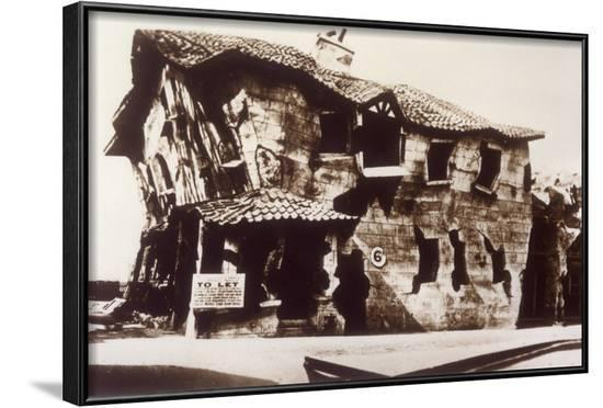 Crooked House, Butlins--Framed Photographic Print