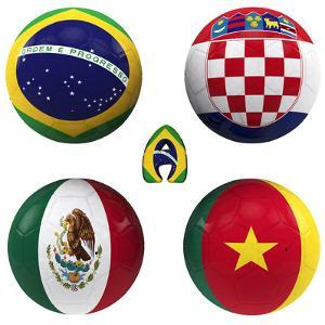 A Group of the World Cup by croreja