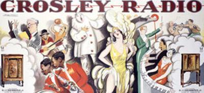 Crosley Tube Radio Poster