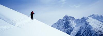 Cross Country Skiing, British Columbia, Canada