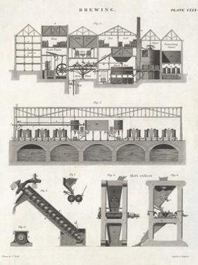 Cross-Section of Brewery