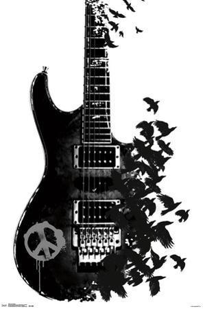 Crow Guitar